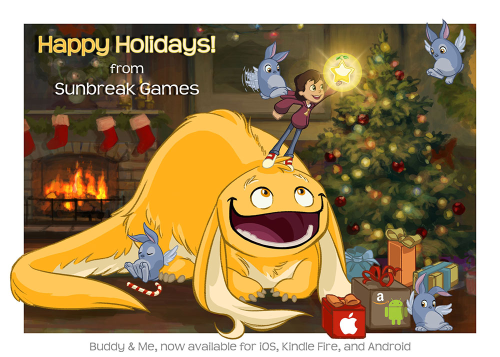 Happy Holidays from Sunbreak Games!